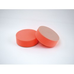 Disque de polissage velcro 160mm x 50mm Orange (Dur)