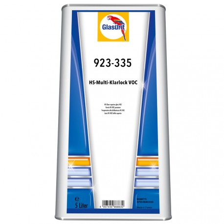 Vernis Glasurit HS MultiClear en 5L