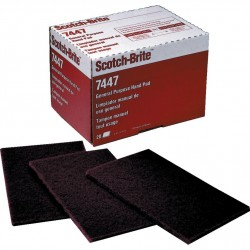 Scotch-Brite 3M rouge fin en 158mm x 224mm