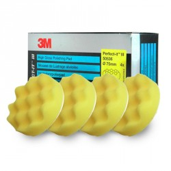 Mousse 3M de polissage jaune en 75mm