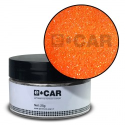 Metal Flakes FLUO Orange 200μ