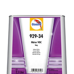 Durcisseur glasurit lent 929-34 en 2.5L