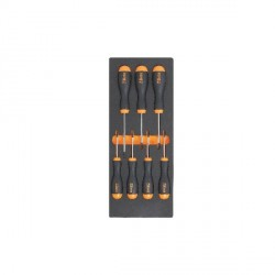 Jeu de 7 tournevis TORX en soft plateau BETA TOOLS