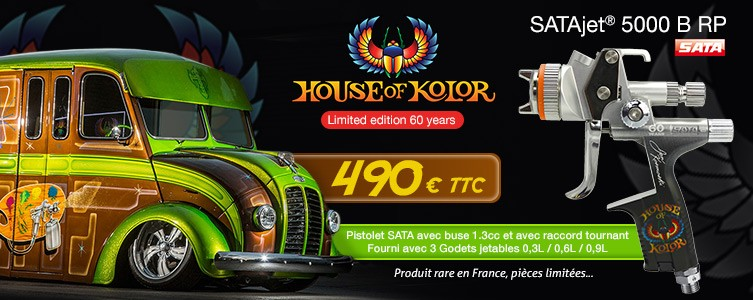 Pistolet Sata House of Kolor