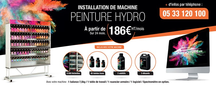 Installation machine hydro